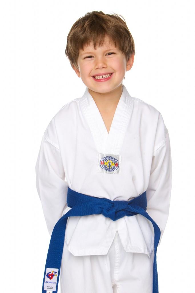 uniforme taekwondo enfant