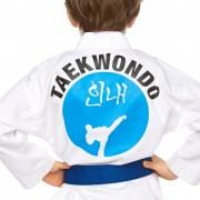 dos uniforme taekwondo enfant