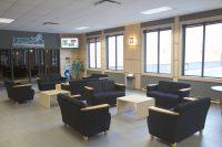 Salle d'attente Complexe Sportif de Drummondville